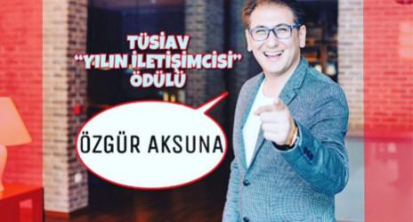TÜSİAV - Yılın İletişimcisi - Özgür Aksuna_web